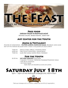 The Feast Poster
